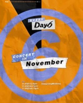 DAY6コンサート【EVERY DAY6 CONCERT IN NOVEMBER】
