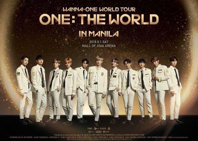 WANNAONEフィリピン・マニラコンサートチケット代行!