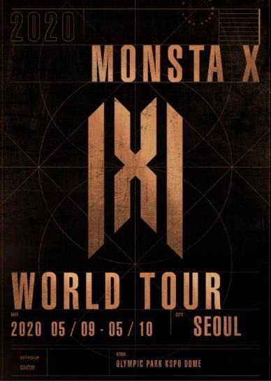 MONSTA X韓国ソウルコンサートチケット代行★